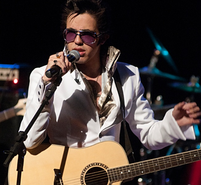 Elvis in Concert no Teatro Municipal de Itaja�