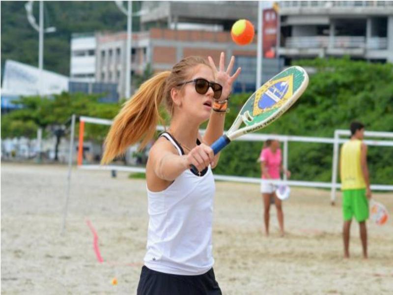 Balne�rio Cambori� sedia segundo Maraca Beach T�nis Cup no fim de semana